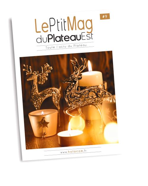 Le Ptit Mag du Plateau Est 09 - Novembre-décembre 2018